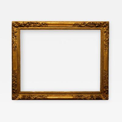 English 18th Century Carved Lely Picture Frame 34x44 5
