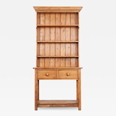 English 19th Century Pine Dresser