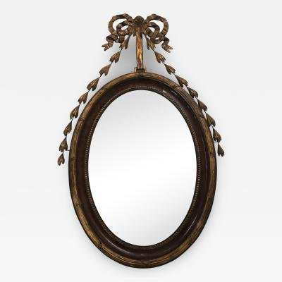 English Adam Style Mirror circa 1880