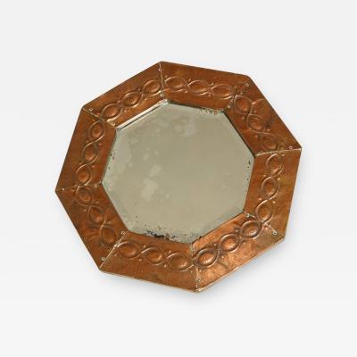 English Arts Crafts Mirror
