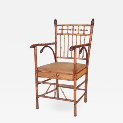 English Bamboo Chair