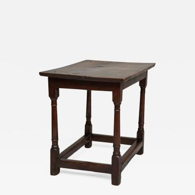 English Baroque Low Side Table