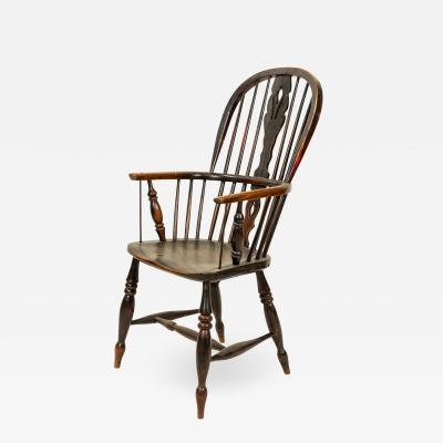 English Country Windsor Arm Chair