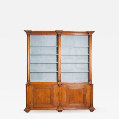 English Early 19th Century Oak Bookcase