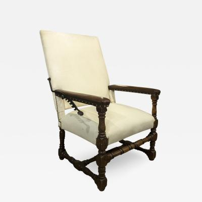 English Early Reclining Chair