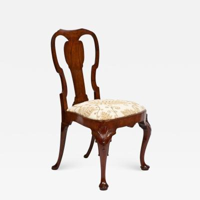 English George II Chair with Shell Motifs