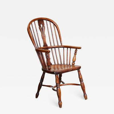 English Hoop Back Windsor Armchair