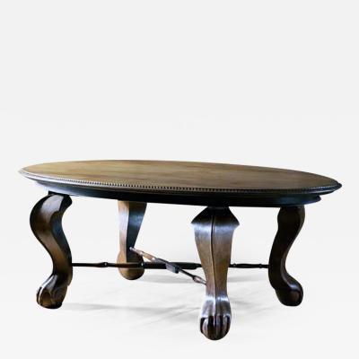 English Mahogany Centre Table