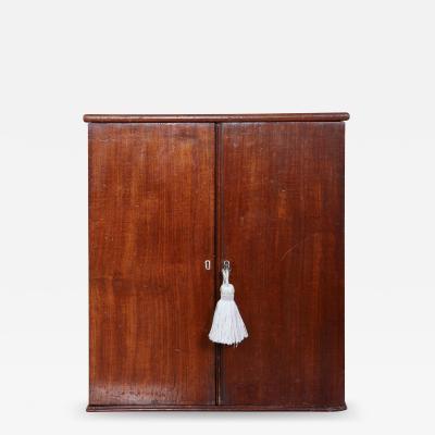 English Mahogany Collectors Cabinet Drinks Table