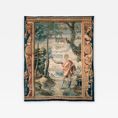 English Mythological Tapestry Mortlake London Late 17th Early 18th Century