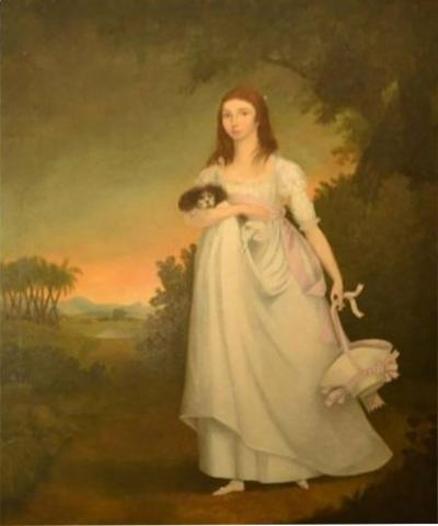 English Portrait of a Young Lady