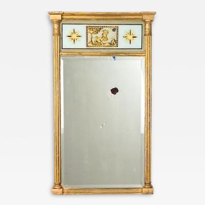 English Regency Pier Mirror Circa 1810