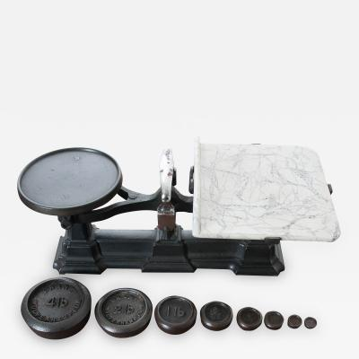 English Victorian Scale Weights