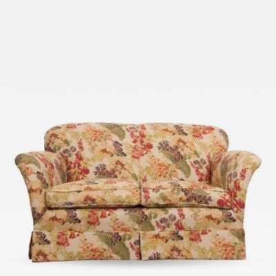 English Vintage Settee Love Seat