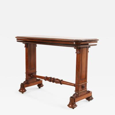 English William IV Mahogany Console Table