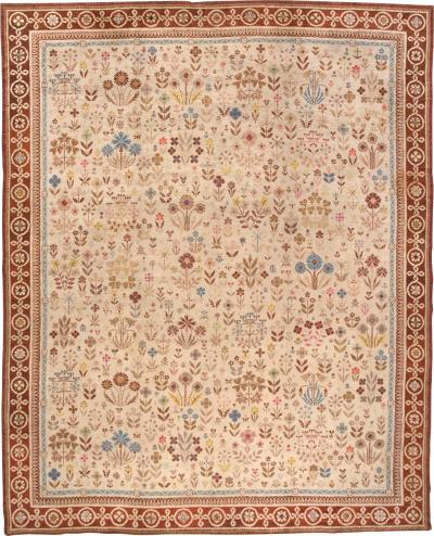English hand made Wilton rug 13 ft x 16 ft