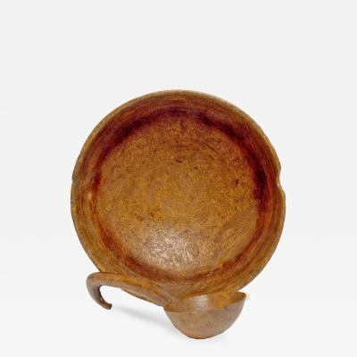 Enormous Burl Wood Bowl
