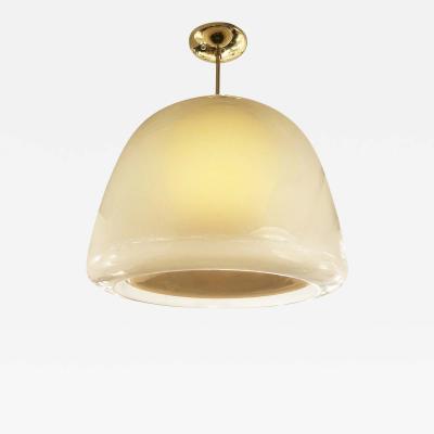Enrico Capuzzo Murano Glass Pendant by Enrico Capuzzo for Vistosi Italy 1960s