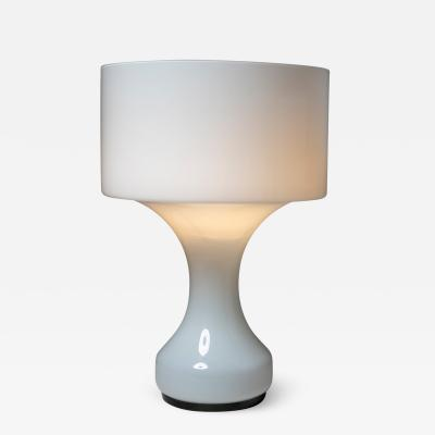 Enrico Capuzzo Murano Glass Sebenica Table Lamp by Capuzzo for Vistosi