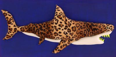 Enrico Cecotto Leopard Shark Mixed technique on canvas by Enrico Cecotto