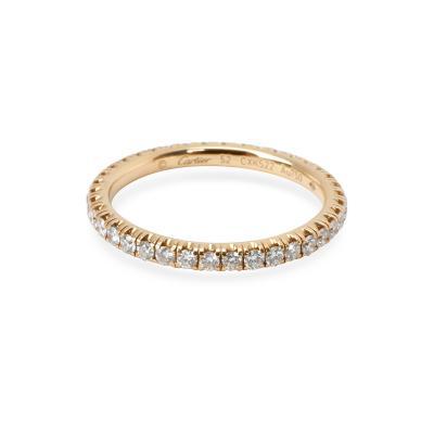 Entincelle De Cartier Diamond Wedding Band in 18KT Yellow Gold 0 38 CTW