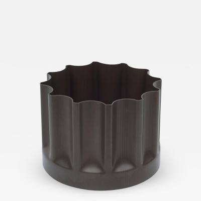 Enzo Mari Enzo Mari Dark Brown Moulded Plastic Bambu Vessel for Danese Italy 1969