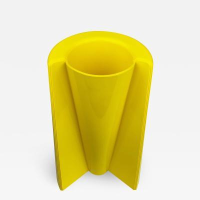 Enzo Mari Enzo Mari Yellow Vase Model 3087