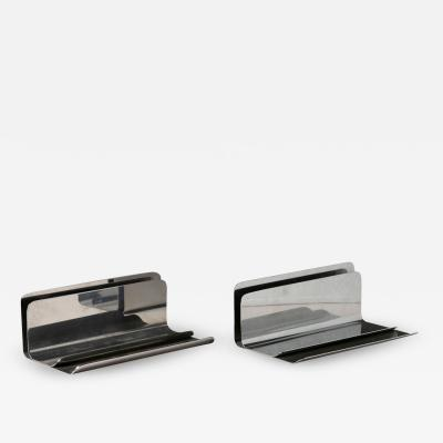 Enzo Mari Pair of Ventotene Desk Sets by Enzo Mari for Danese