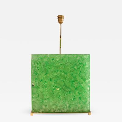 Enzo Missoni Huge resin lamp