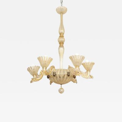 Ercole Barovier BAROVIER TOSO CHANDELIER MADE IN VENICE 1935