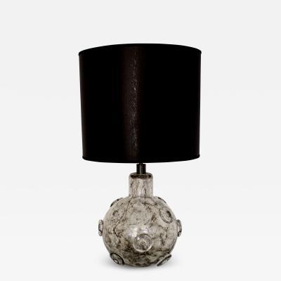 Ercole Barovier ERCOLE BAROVIER CREPUSCOLO MURANO GLASS ITALIAN TABLE LAMP