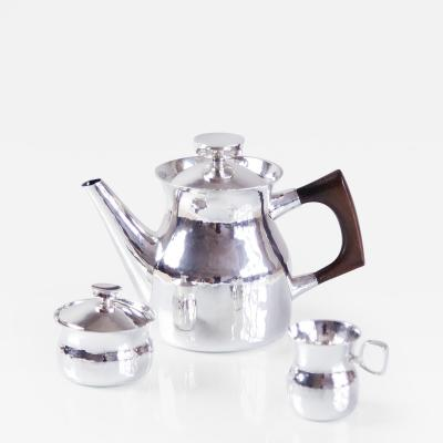 Eric Lo fman Sterling Silver Coffee Service