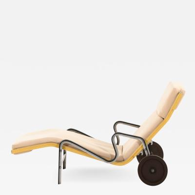 Eric Sigfrid Persson Sunbed Lounge Chair Produced in Sweden