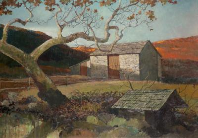 Eric Sloane Stone Barn