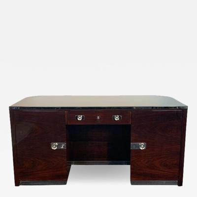 Erich Dieckmann Restored original Bauhaus desk by Erich Diekmann Rosewood Germany 1923 25