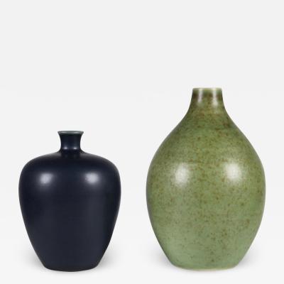 Erich Triller Erich Ingrid Triller Vases Tobo 1950s