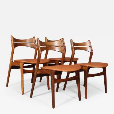 Erik Buch Erik Buch A set of four dining chairs model 310 4
