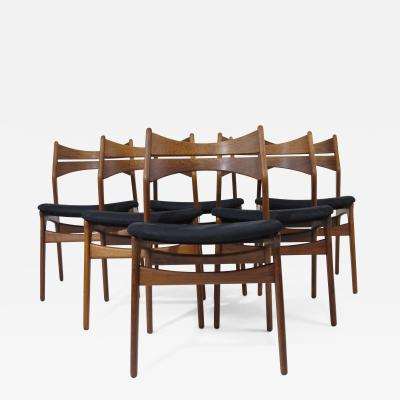 Erik Buch Erik Buch Rosewood Dining Chairs Set of 6