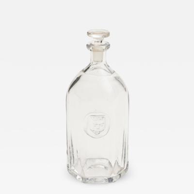 Erik H glund Glass decanter by Erik Hoglund