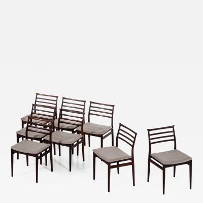 Erling Torvits Dining Chairs Produced by Sor Stolefabrik