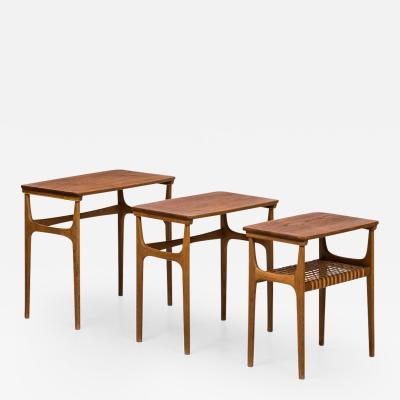Erling Torvits Erling Torvits Nesting Tables model 15