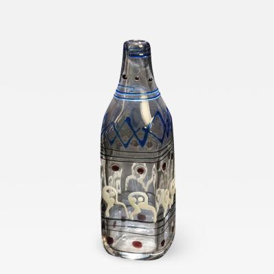 Ermanno Nason Bianconi Teatrino Murano Glass Vase