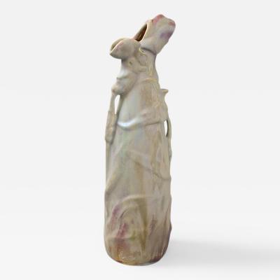 Ernest Bussi re French Art Nouveau Ceramic Vase