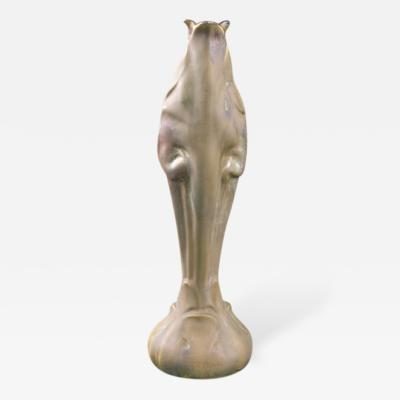 Ernest Bussi re French Art Nouveau Ceramic Vase by Bussi re
