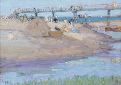 Ernest David Roth Bass Rock Beach Gloucester Massachusetts