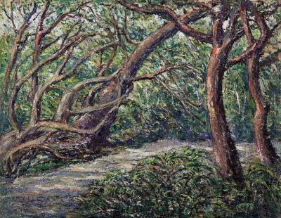 Ernest Lawson Path Through the Woods Florida