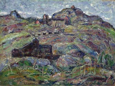 Ernest Lawson The Elkton Mine Cripple Creek Colorado