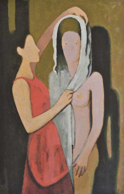 Ernest Neuschul der Brautschleier The Bridal Veil