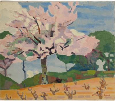 Ernest Yarrow Jones Ernest Yarrow Jones BRITISH 1872 1951 Tree in Bloom