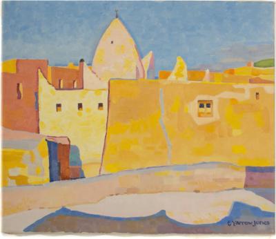 Ernest Yarrow Jones Ernest Yarrow Jones BRITISH 1872 1951 Yellow Town painting